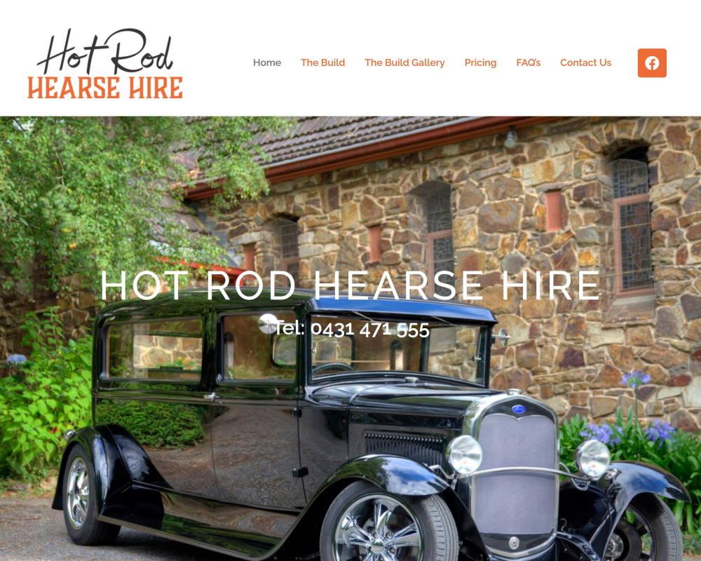 Hot Rod Hearse Hire
