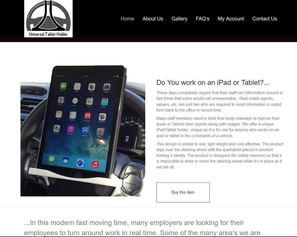 Ipad-Holder by aaa-web design