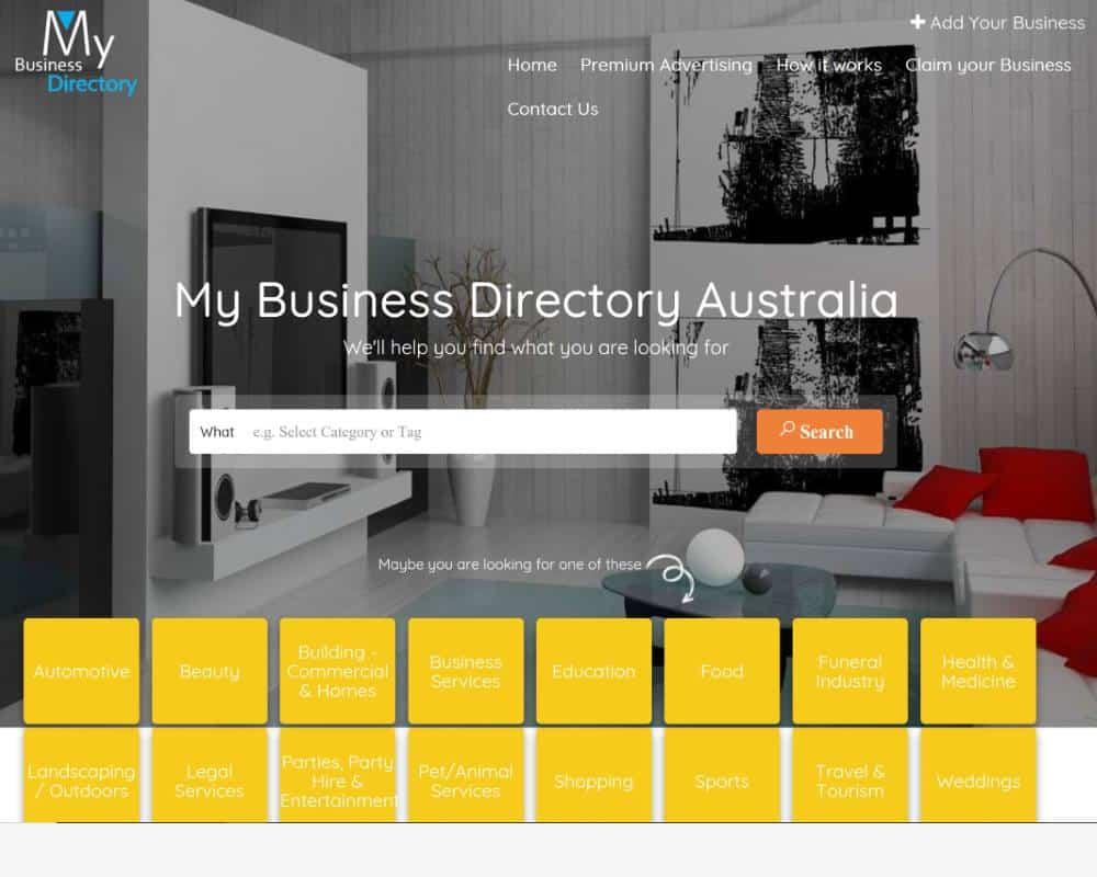 My Business Directory Australia AAA Web Design