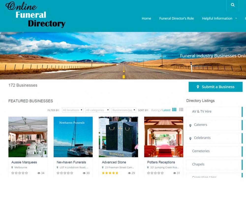 Online-Funeral-Directory