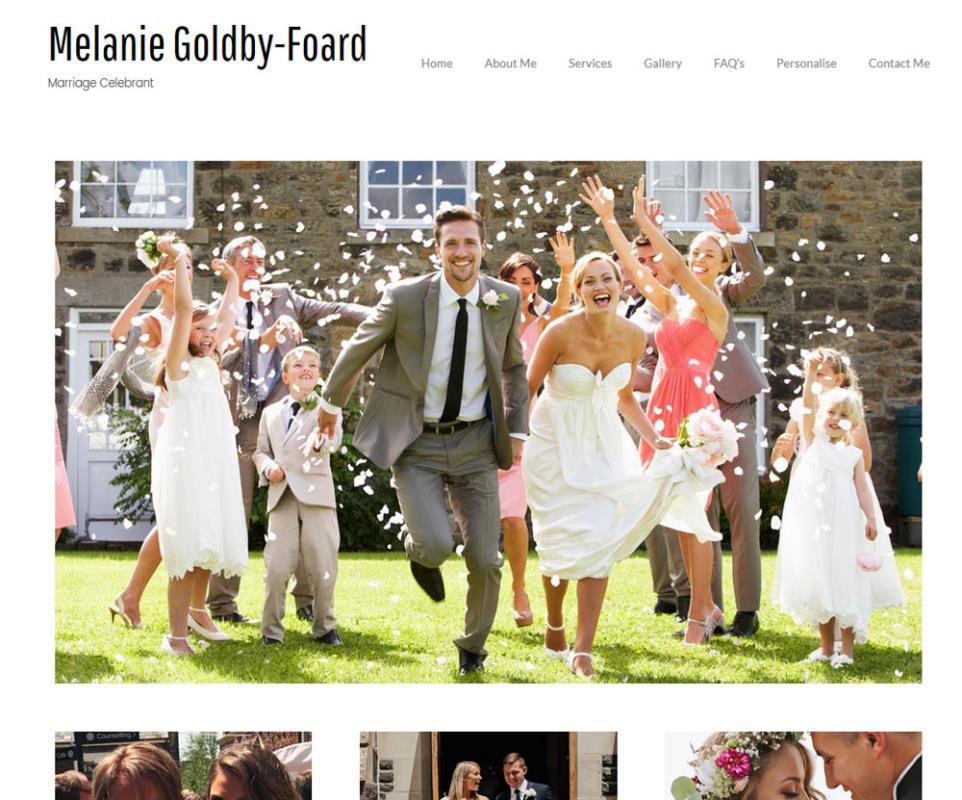 melanie-Goldby-Foard-website by aaa-web design