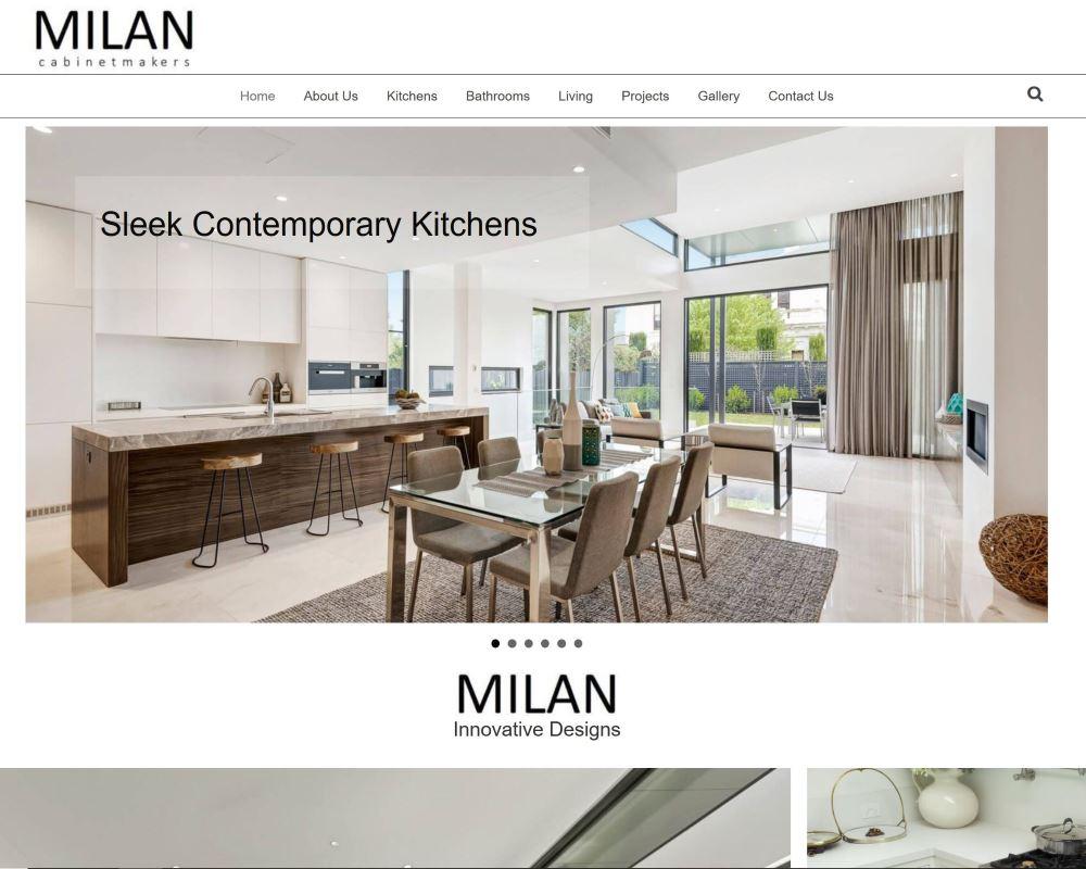 milan cabinet makers website
