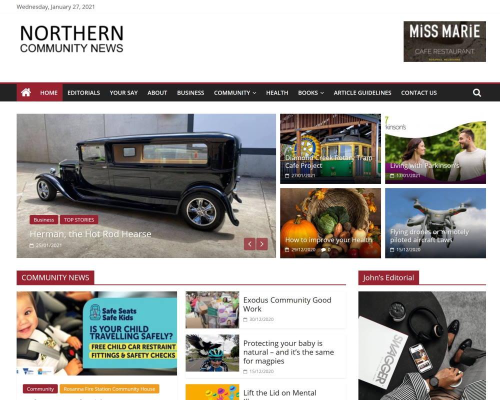 northern community news